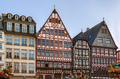 Romerberg square, Frankfurt, Germany. Historical houses on Romerberg square, Frankfurt, Germany Royalty Free Stock Photography