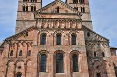 Romersk abbotskloster av Murbach i Alsace Arkivbild