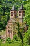 Romersk abbotskloster av Murbach i Alsace Royaltyfria Foton
