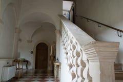 Romersk abbotsklosterkloster Royaltyfria Bilder