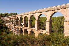 Romersk akvedukt Fotografering för Bildbyråer