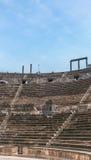 Romersk amfiteater Arkivbild