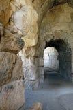 Romersk amfiteater, Beit Guvrin, Israel Royaltyfria Foton