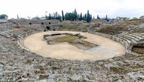 Romersk amfiteater i Merida Spain Royaltyfri Bild