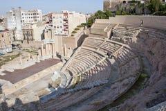 Romersk amphitheater royaltyfria bilder