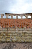 Romersk Amphitheater i Macao, Kina Royaltyfri Bild