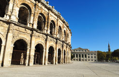 Romersk arena Royaltyfria Bilder