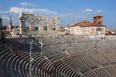 Romersk Arena på Verona Royaltyfria Foton