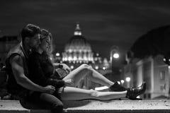 Romersk ferie. fotografering för bildbyråer