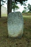 Romersk handstil på en stenpelare Arkivfoton