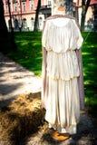 Romersk klänning, kvinnor Royaltyfri Bild