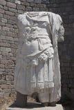 Romersk krigaretorsoskulptur, Bergama Royaltyfria Foton