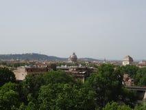 Romersk panorama Royaltyfri Fotografi