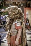 Romersk soldat, Arde Lucus arkivbilder