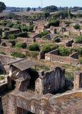 Romersk stad, Ostia Antica, Italien. Royaltyfria Bilder