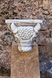 Romersk statydetalj Arkivfoton