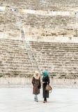 Romersk teater fotografering för bildbyråer
