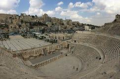 Romersk teater Royaltyfri Bild
