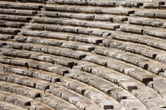 Romersk teater Aspendos Arkivbilder