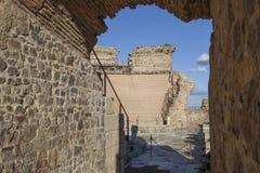 Romersk teater av Medellin, Spanien tillträde Royaltyfri Fotografi