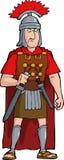 Romersk tjänsteman royaltyfri illustrationer