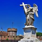 Romerska landmarks arkivfoto
