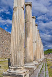 Romerska Pergamum - Asklepion Royaltyfri Bild