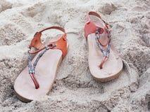 Romerska sandaler Royaltyfria Foton