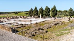 Romerskt archaeological återstår Arkivbilder
