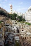 Romerskt bad arkivbilder