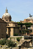 Romerskt fora Rome Arkivbild
