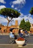 ROMERSKT FORUM, ROME, ITALY-SEPTEMBER 24 Royaltyfri Foto