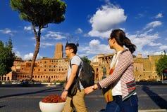 ROMERSKT FORUM, ROME, ITALY-SEPTEMBER 24 Arkivbilder