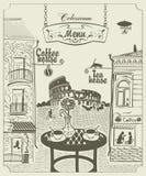 Romes cafe Royalty Free Stock Image