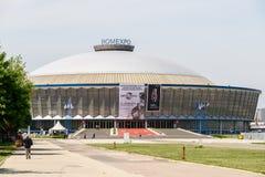 Romexpo budynek Obrazy Royalty Free
