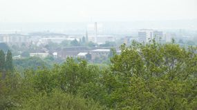 Romford Industry on a Spring Morning 2019 royalty free stock photos