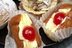 Romige cakes Royalty-vrije Stock Foto