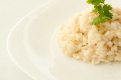 Romige risotto Royalty-vrije Stock Afbeelding