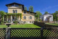 Romische Bader, residence imitating Roman baths Stock Photography