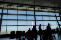 Romm de attente à l'aéroport Image libre de droits