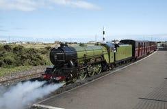 Romney Hythe Dymchurch Railway steam engine UK Royalty Free Stock Photos