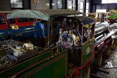 Romney linia kolejowa Zdjęcie Royalty Free