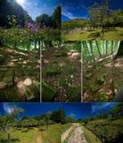 Romênia - fortaleza de Dacian de Piatra Rosie Foto de Stock Royalty Free