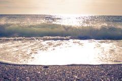 Rompa la onda Fotos de archivo