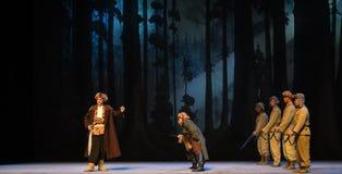 """Rompa nell'opera dinemico-Pechino che """"Taking il  del € di Tiger Montain By Strategyâ Immagine Stock Libera da Diritti"""