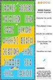 Rompecabezas de la palabra Imagen de archivo libre de regalías