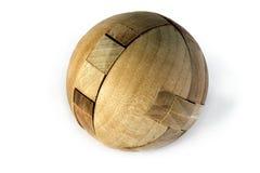 Rompecabezas de madera Imagen de archivo libre de regalías