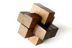 Rompecabezas de madera Foto de archivo