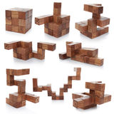 Rompecabezas de madera Imagen de archivo