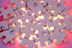 Rompecabezas de rompecabezas foto de archivo libre de regalías